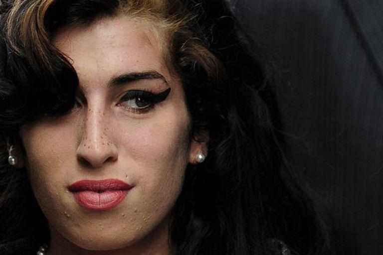 A cantora britânica Amy Winehouse.