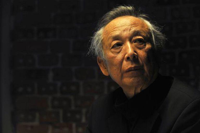 O prêmio Nobel Gao Xingjian, em Bilbau.