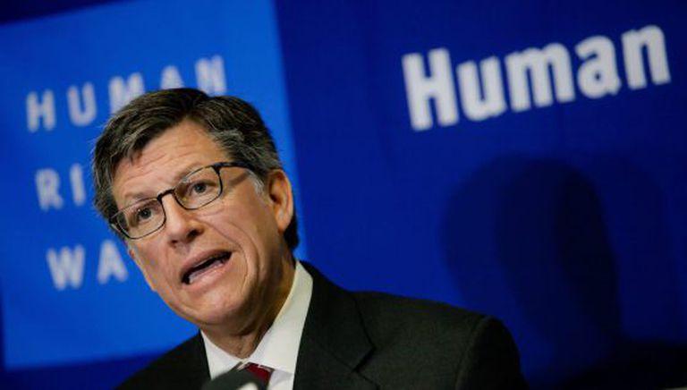 O diretor da Human Rights Watch para as Américas, José Miguel Vivanco.