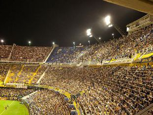 La Bombonera, o estádio do Boca Juniors.