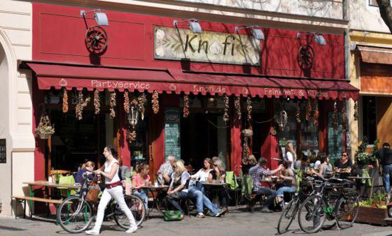 Restaurante no bairro de Kreuzberg, em Berlim.