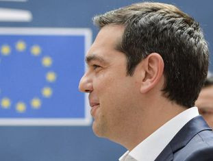 O primeiro-ministro grego, Alexis Tsipras.