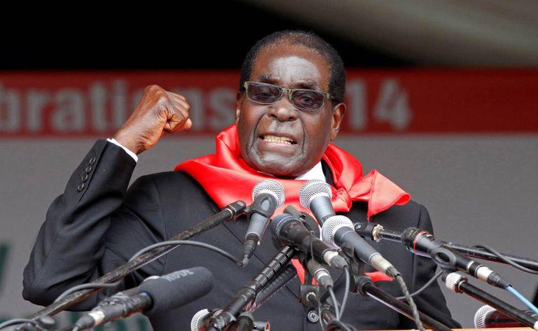 O ex-presidente de Zimbabue, Robert Mugabe, em uma imagem tomada em 2014.