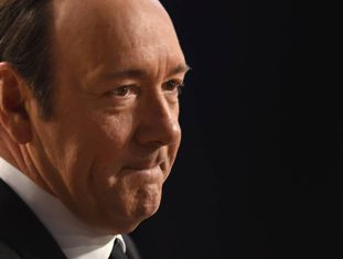 Kevin Spacey fotografado no evento dos Screen Actors Guild Awards 2017.