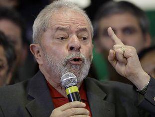 Lula durante pronunciamento em São Paulo na quinta-feira.
