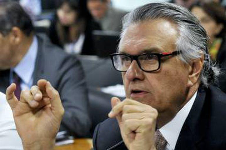 O senador Ronaldo Caiado.