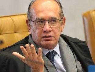O ministro Gilmar Mendes, que relativizou o caixa 2.