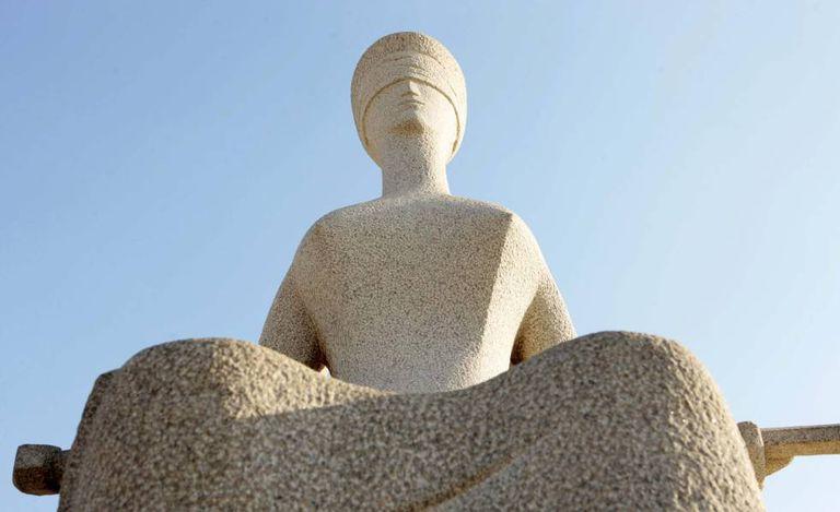 Estátua da Justiça.