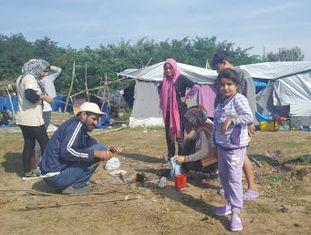 Moradores das zonas fronteiriças repetem as mensagens das campanhas do Governo contra a imigração
