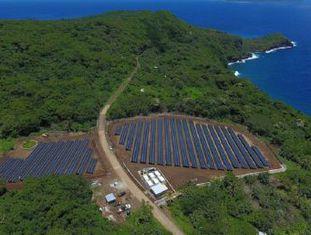 A SolarCity, adquirida pela empresa, instalou na ilha de Ta'u uma rede elétrica solar de 1,4 MW de potência e reserva para três dias