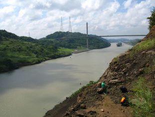 As obras de ampliação do canal do Panamá permitiram analisar estratos com minerais que foram rastreados até chegar aos Ande colombianos.