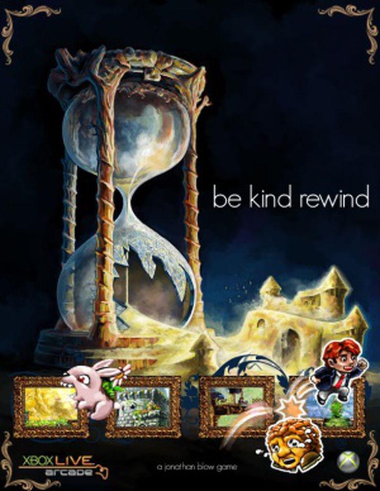 Pôster de 'Braid', o jogo de Jonathan Blow que iniciou a revolução 'indie'.