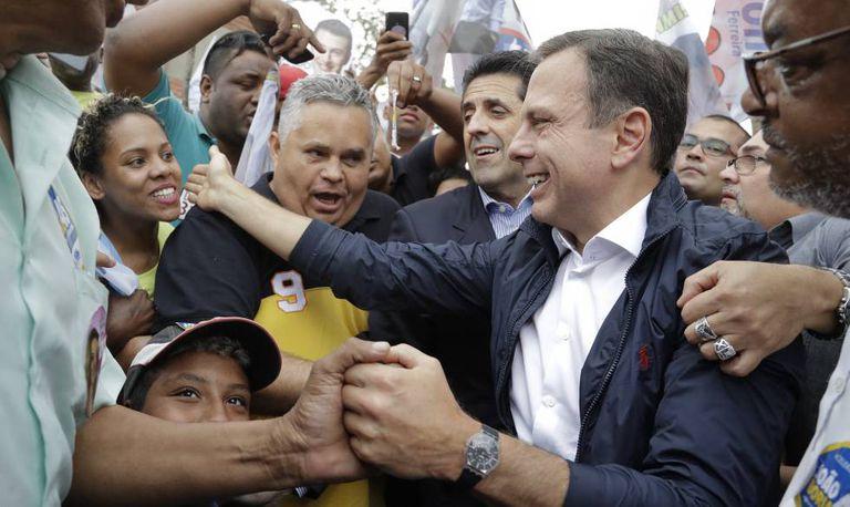 Líder nas pesquisas, João Doria faz campanha em São Paulo na sexta-feira.