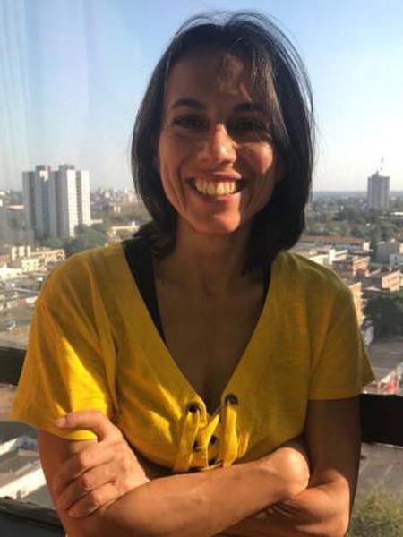 Marta G. Rivera Ferre nesta quinta-feira em Foz do Iguaçu (PR).