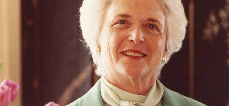 Barbara Bush, em junho de 1981.
