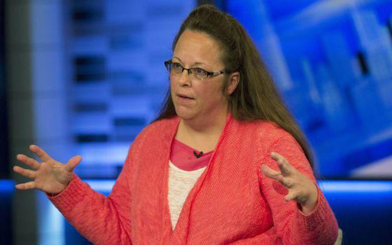 Kim Davis em entrevista ao canal Fox.
