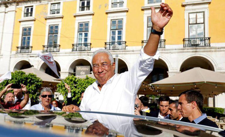 O premiê português, António Costa.