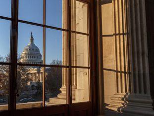 O Capitolio de Washington.