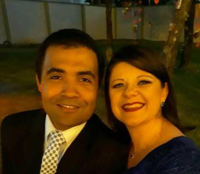 Daniel e sua mulher, Ana.