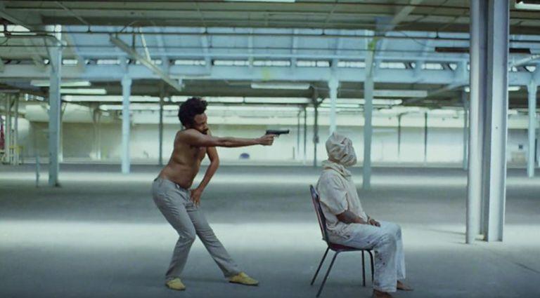 Trecho do vídeo 'This is America', de Childish Gambino.