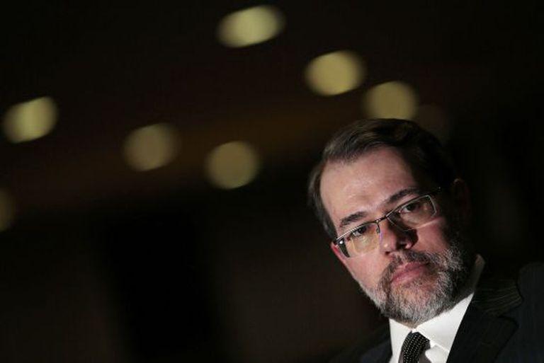 Ministro Dias Toffoli, ontem em Brasília.
