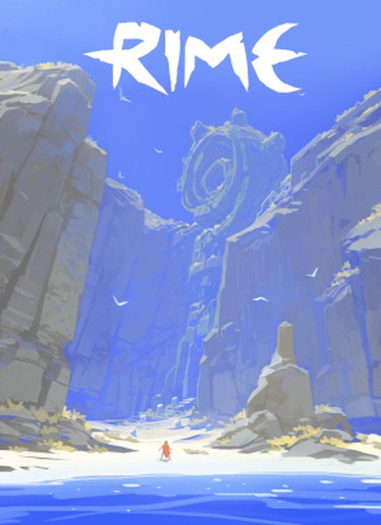 Pôster de 'Rime', jogo exclusivo do PlayStation 4 da espanhola Tequila Works inspirado nas pinturas de Joaquín Sorolla e no 'Pequeno Príncipe'.
