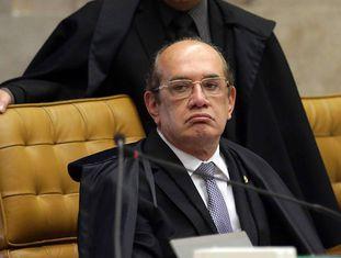 Gilmar Mendes, durante o julgamento do Habeas Corpus do Lula.