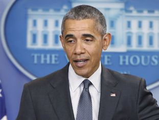 Barack Obama, nesta terça-feira na Casa Branca.