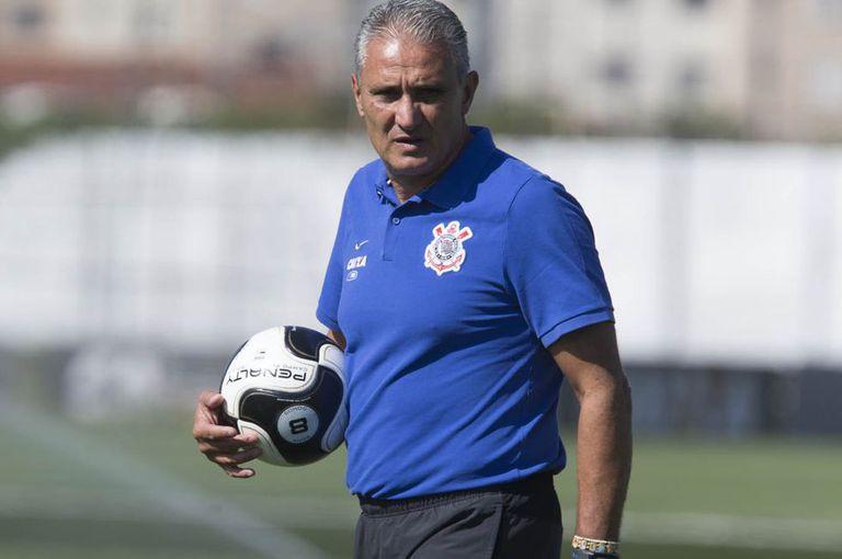 Tite, treinador do Corinthians.