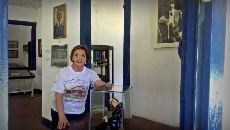 Mônica Castello Branco, diretora da Fundação Casa de Cabangu.