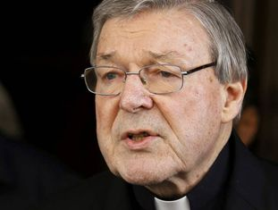 O cardeal George Pell.