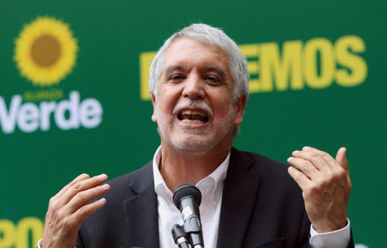 Enrique Peñalosa, candidato presidencial pela Aliança Verde.
