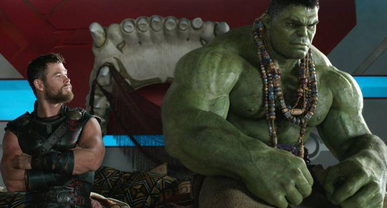 Fotograma de 'Thor: Ragnarok', a estreia mais recente da Disney.