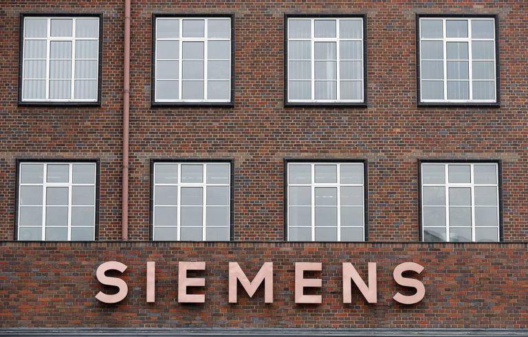 A sede da Siemens em Berlin (Alemanha)