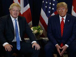 Trump se reúne com Boris Johnson na Assembleia Geral da ONU.