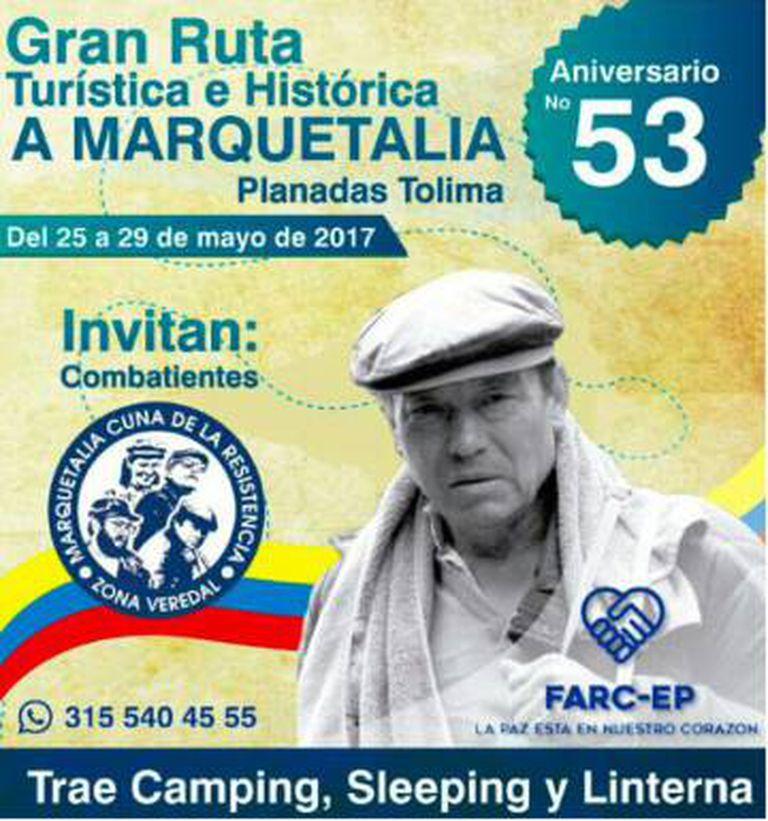 O convite das FARC.
