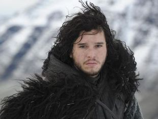 O personagem Jon Snow.