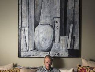 Martin Amis, em sua casa no Brooklyn, em Nova York