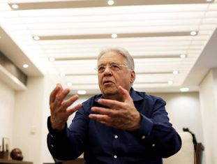 O ex-presidente FHC, em foto de maio.