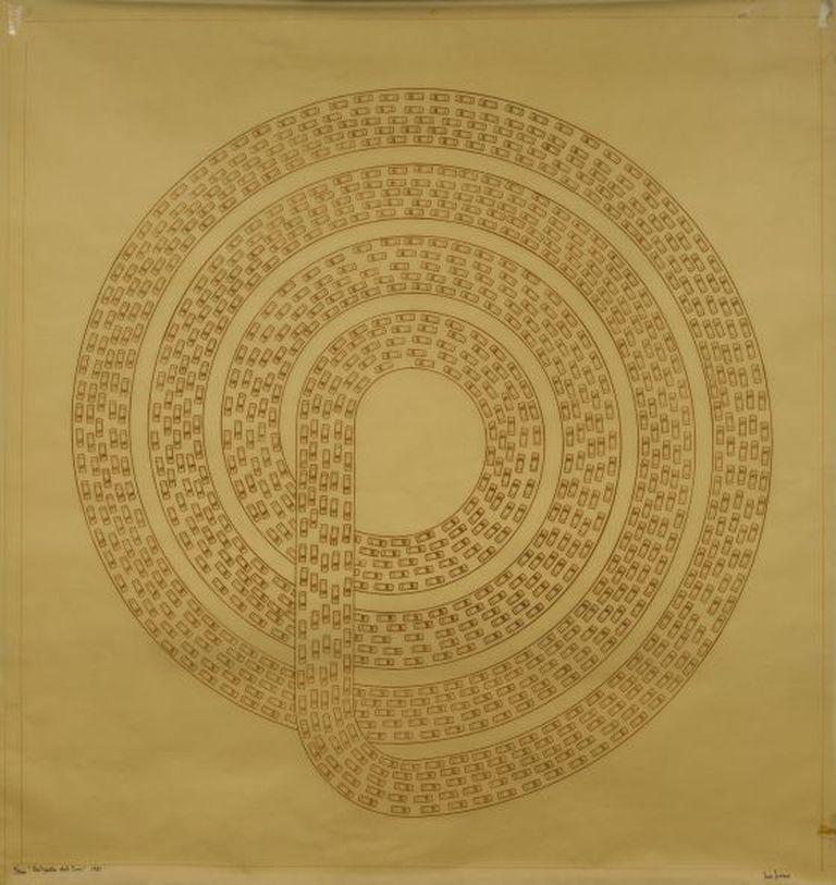 'Autopista del Sur' (1981), obra exposta no Masp.