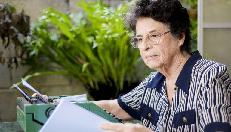 A escritora Maria Valéria Rezende.