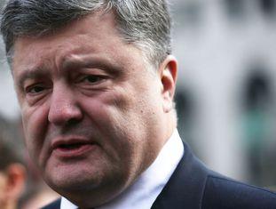 O presidente ucraniano, Petro Poroshenko, dia 31.03.