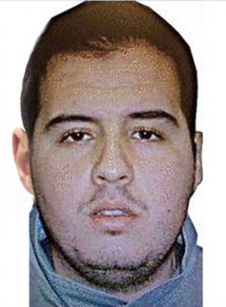 Ibrahim El Bakraoui, um dos terroristas suicidas do Aeroporto de Bruxelas.