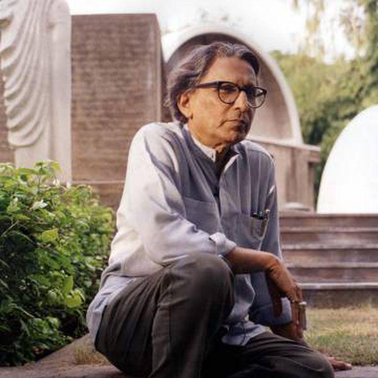 O arquiteto indiano Balkrishna Doshi.
