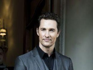 Matthew McConaughey, no mês passado.