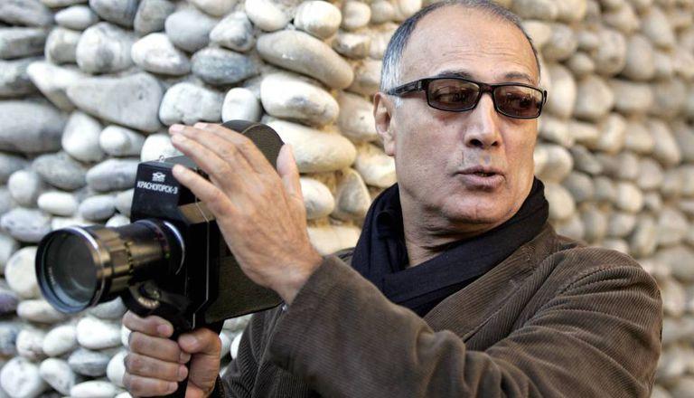 Abbas Kiarostami, em 1997.