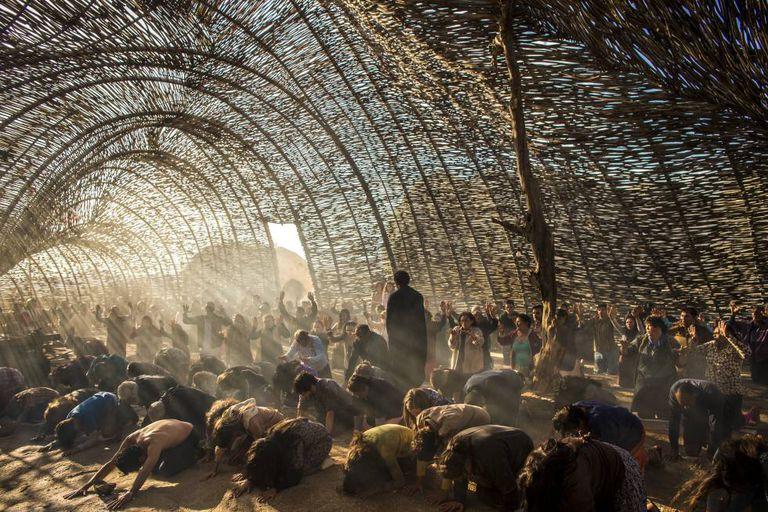 Filmagem de 'Onde nascem os fortes', na Paraíba.