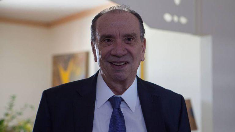 O chanceler do Brasil, Aloysio Nunes.