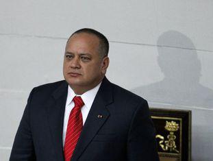 Diosdado Cabello, em Caracas, em uma imagem de 2013.