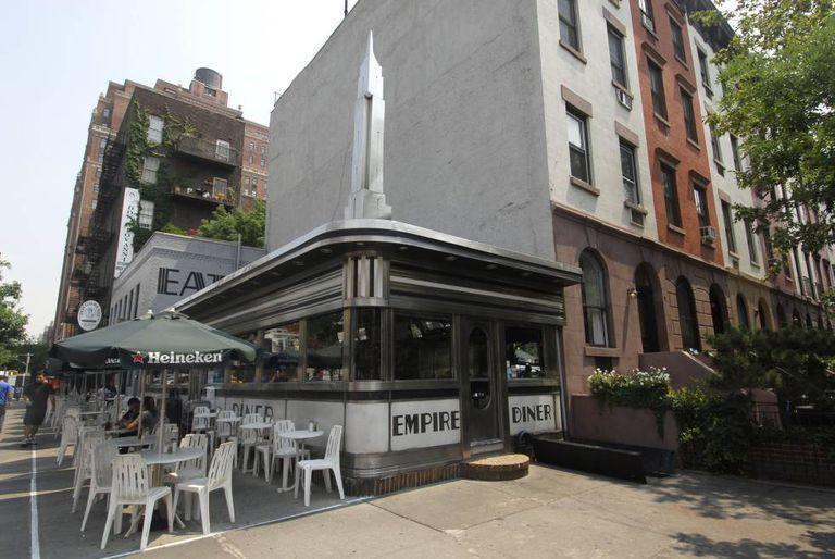 Empire Diner, em Nova York.